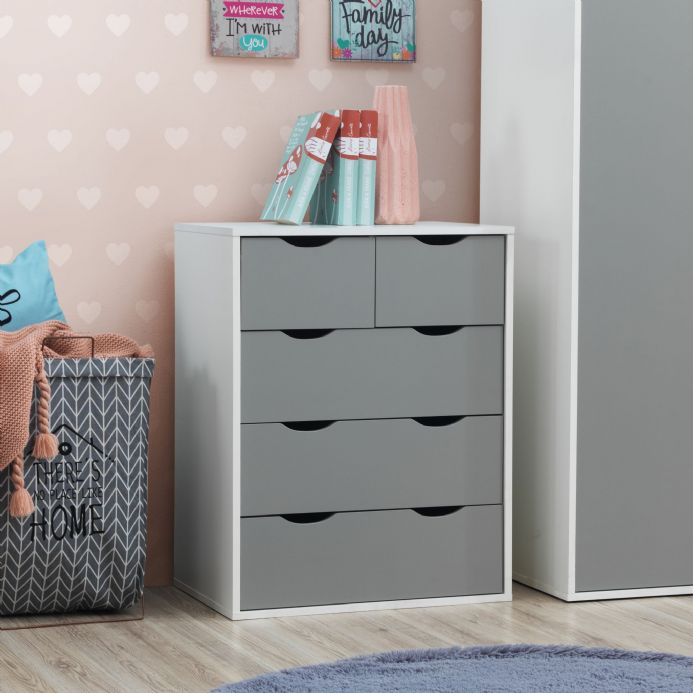 Alton 3+2 Drawer Chest